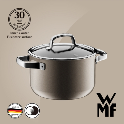 德國WMF Fusiontec 高身湯鍋20cm/3.7L-棕銅色(快)