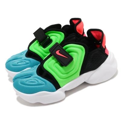 Nike 休閒鞋 Aqua Rift 穿搭 女鞋 忍者鞋 夏日 輕便 撞色 球鞋 黑 藍 CW7164400