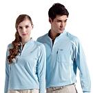 Londa Polo吸濕排汗女版長袖POLO衫P74533淺水藍色