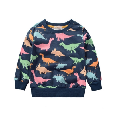 Baby童衣 男童滿印恐龍印花長袖上衣 88221