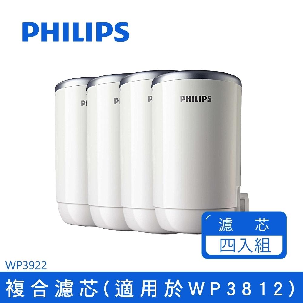 飛利浦複合濾芯日本原裝 WP3922*4入