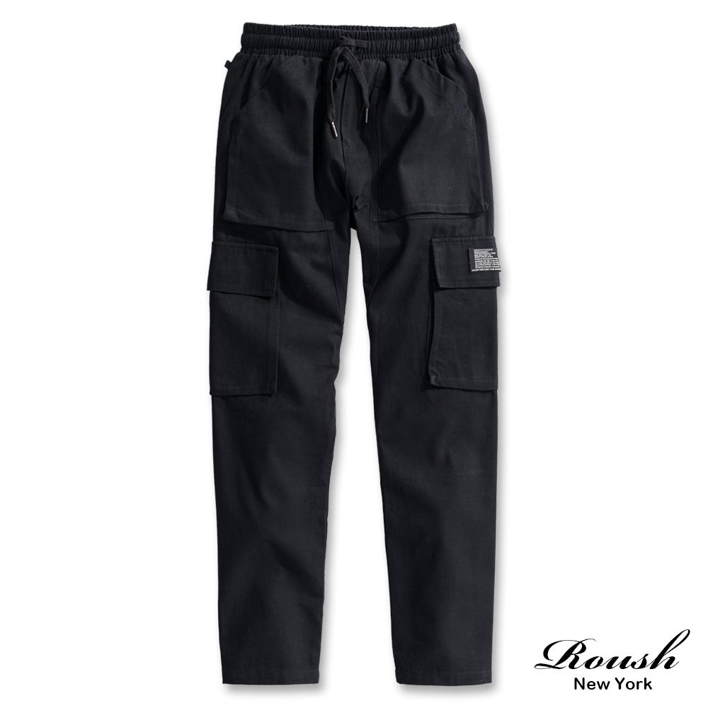 Roush 六口袋水洗斜紋工裝長褲(3色)