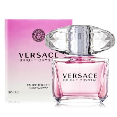 *Versace 凡賽斯 香戀水晶淡香水 Bright Crystal 90ml EDT-公司貨