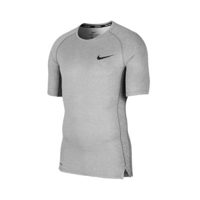 Nike 緊身衣 Pro Tight-Fit Top 男款 圓領 路跑 健身 重訓 DRI-FIT 灰 黑 BV5632085