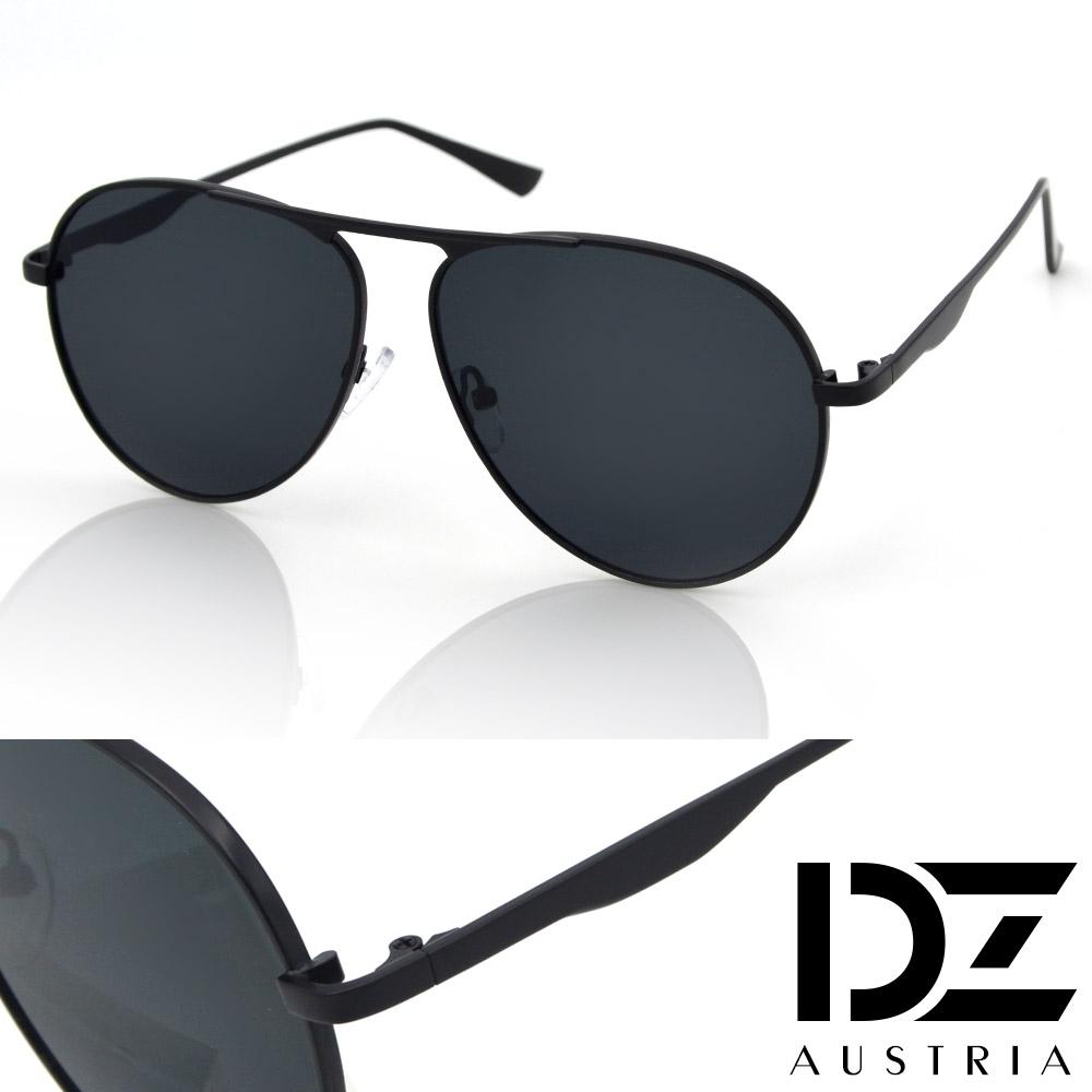 【2件59折】DZ 都會美型 抗UV防曬太陽眼鏡墨鏡(時尚黑)