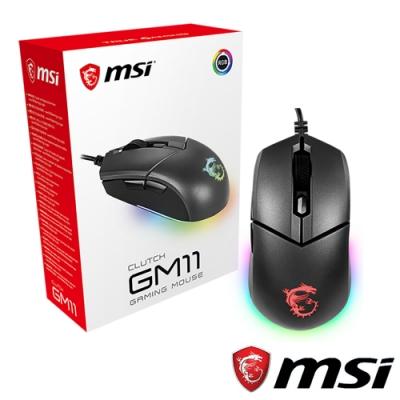 MSI微星 Clutch GM11 電競滑鼠