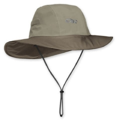 Outdoor Research GoreTex 防水圓盤帽 卡其