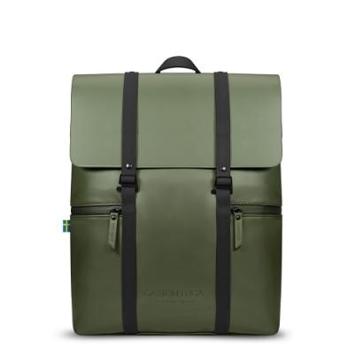 GASTON LUGA Splash 個性後背包 - 橄欖綠/黑