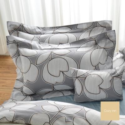 Cozy inn 花趣-200織精梳棉-枕頭套2入