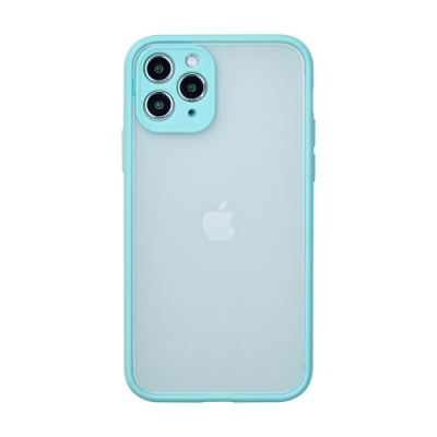 【TOYSELECT】iPhone 12 醇色MELLOW減震防摔手機殼 - 翠天藍