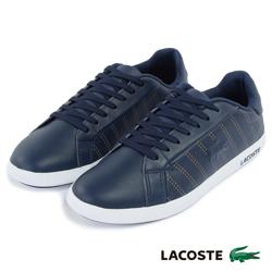 LACOSTE 女用休閒鞋-深藍