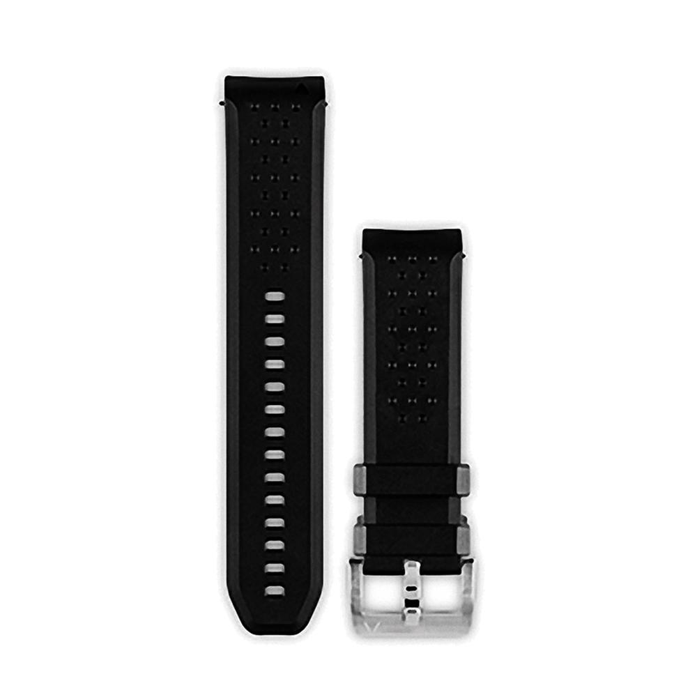 GARMIN fenix Chronos 黑色運動錶帶