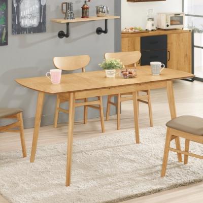 Boden-拉瑪爾5尺多功能拉合餐桌-120x75x75.5cm