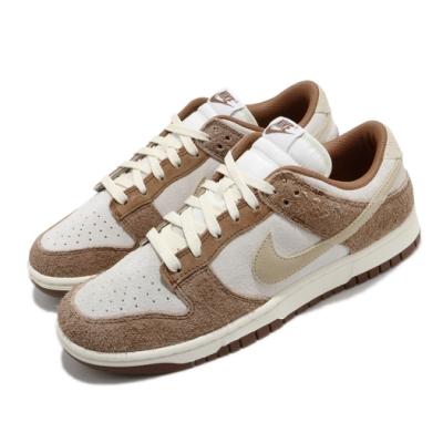 Nike 休閒鞋 Dunk Low Retro 運動 男鞋 麂皮 基本款 簡約 質感 球鞋 穿搭 棕 灰 DD1390100