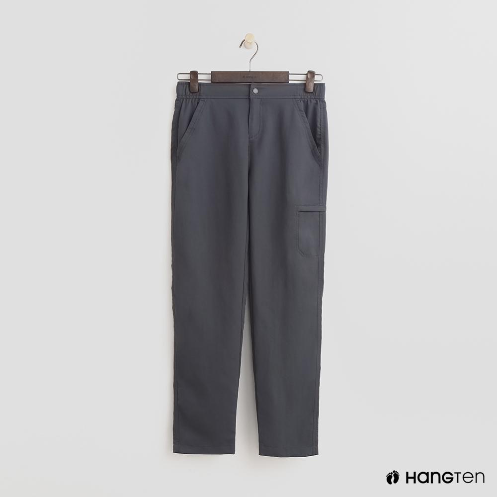 Hang Ten - 女裝 - ThermoContro-鬆緊機能口袋束口褲-灰