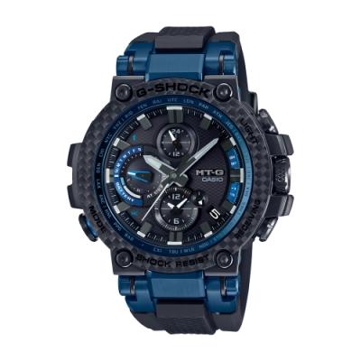 CASIO卡西歐 G-SHOCK 碳纖維錶圈 MTG-B1000XB-1A_51.7mm