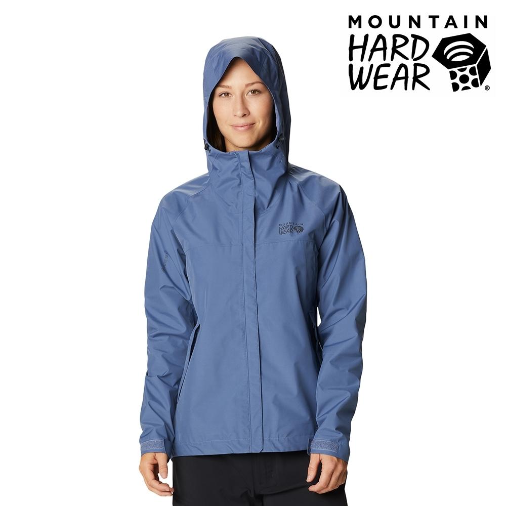 【美國 Mountain Hardwear】Exposure2 Gore-Tex Paclite Jacket GTX輕量防水連帽外套 女款 北境藍 #1929901