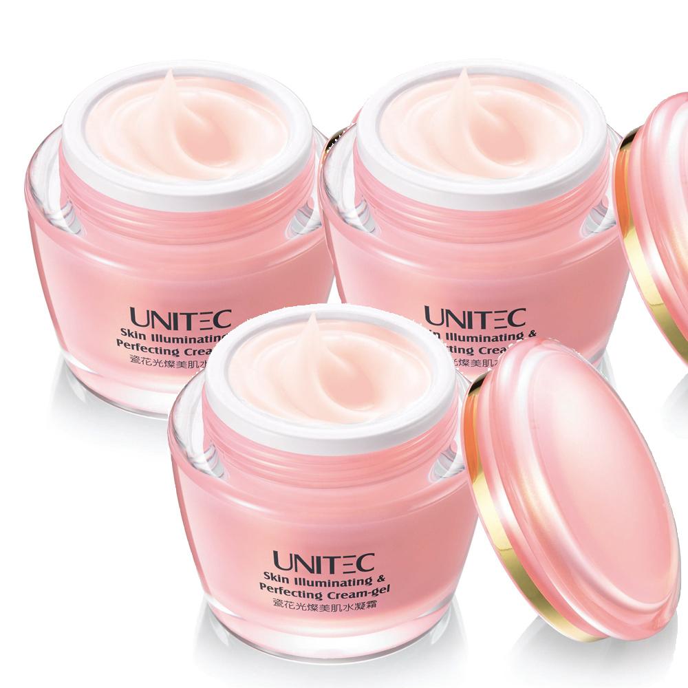 (買二送一)UNITEC彤妍瓷花光燦美肌水凝霜50g