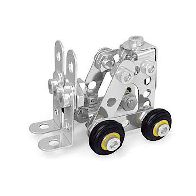 ZEYE-益智金屬積木-堆高機(組裝模型)