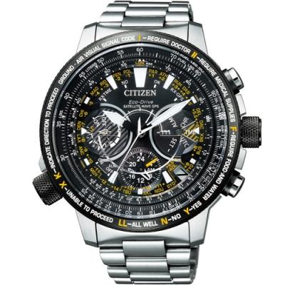 CITIZEN PROMASTER 星際救援衛星對時手錶(CC7014-82E)49mm