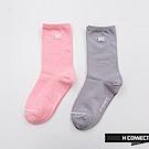 H:CONNECT 韓國品牌 -簡約風格長襪-粉