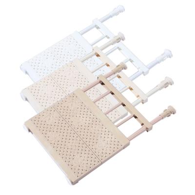 【團購2入組】伸縮式衣櫃置物架 層板架 加強款(常用型)