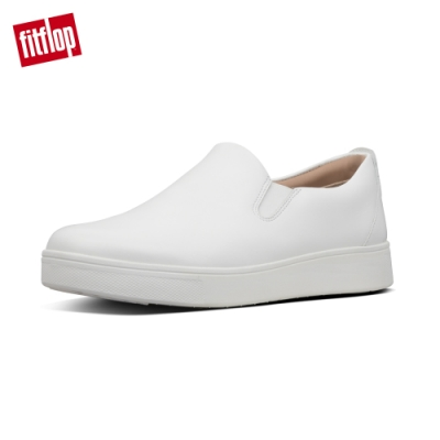 FitFlop SANIA SKATE LEATHER SNEAKERS都會白