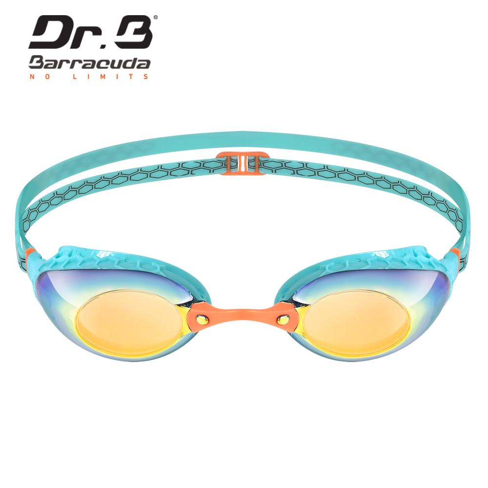 巴博士 女性專用度數電鍍泳鏡 Dr.B F935