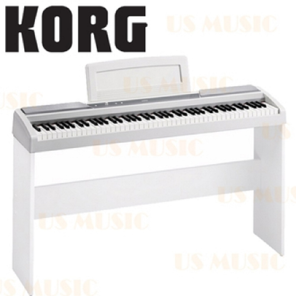 KORG SP-170S/88鍵數位鋼琴+原廠琴架/公司貨保固/白色