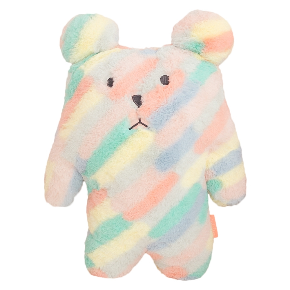 CRAFTHOLIC 宇宙人 彩色斜紋熊寶貝枕
