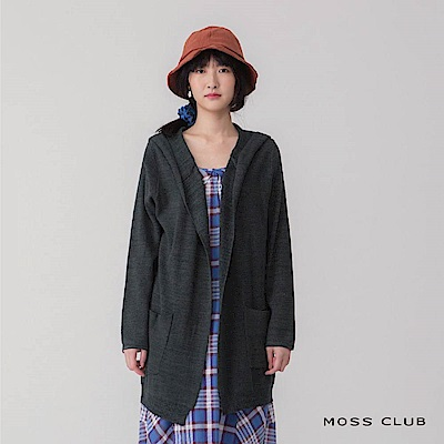 MOSS長版簡約造型 針織衫