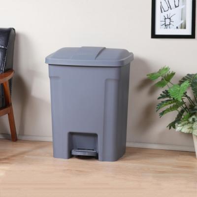 創意達人巴布超大容量腳踏式垃圾桶80L -1入組