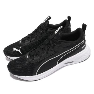 Puma 慢跑鞋 Scorch Runner 男女鞋 路跑 緩震 輕量 舒適 情侶穿搭 黑 白 19445901