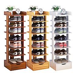 【CityShop】D4270-A直立木製鞋架-8層