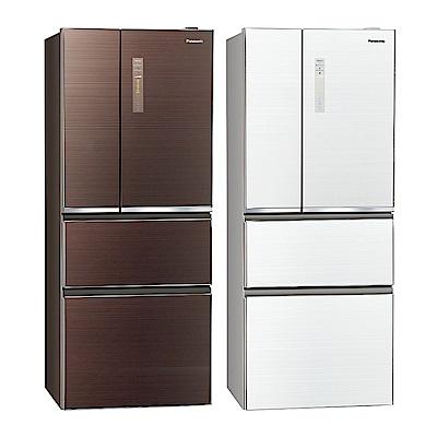 [無卡分期12期]Panasonic國際牌 四門 電冰箱 NR-D509NHGS