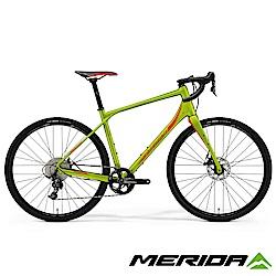 (無卡分期-12期)《MERIDA》公路車界的登山車 Silex 西利 300 綠 2018