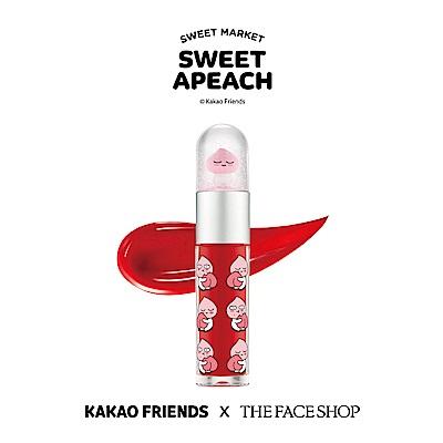 THE FACE SHOP 水晶球唇露 - SWEET APEACH 02蘋果紅