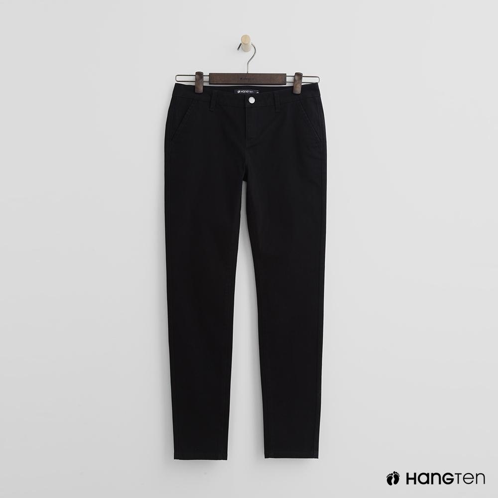 Hang Ten - 女裝 - 簡約休閒褲 - 黑