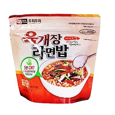 DOORI DOORI泡飯+泡麵 - 韓國大醬湯口味  ( 105g/包 )