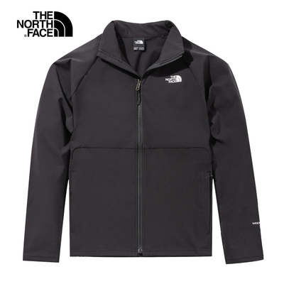 The North Face W APEX NIMBLE JACKET 女 風衣外套 黑-NF0A49ETJK3