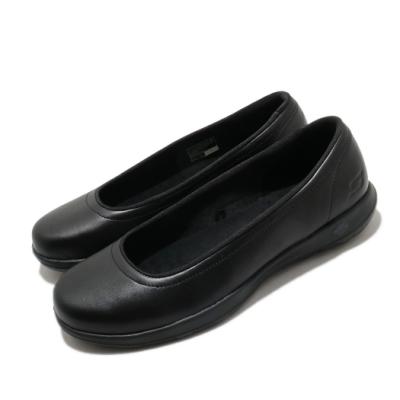 Skechers 休閒鞋 Go Walk Lite Finest 女鞋 上班族 輕量 好穿脫 皮革鞋面 黑 16371BBK