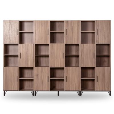 D&T 德泰傢俱 BROOK淺胡桃木9.4尺書櫃 (281.5x40x200cm)