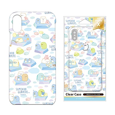 iPhone X 拉拉熊/角落生物 PC/透明/彩繪 硬殼 5.8吋-北極角落生...