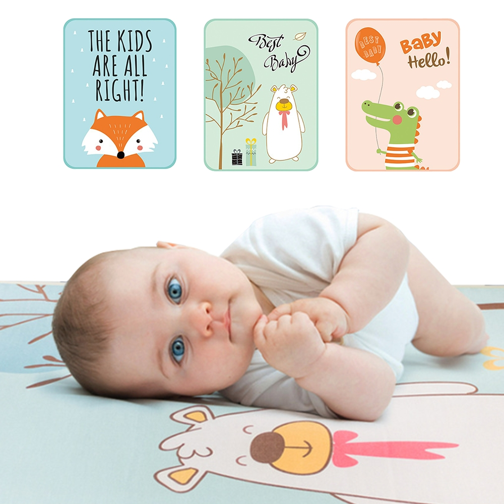 JoyNa嬰兒床隔尿墊冰絲涼蓆床墊