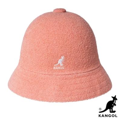 KANGOL-BERMUDA 鐘型帽 - 蜜桃粉