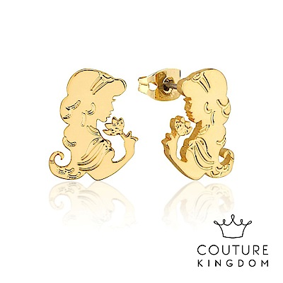 Disney Jewellery by Couture Kingdom 茉莉公主鍍金耳釘