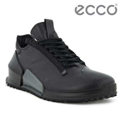 ECCO BIOM 2.0 M 皮革透氣極速運動鞋 男鞋 黑色