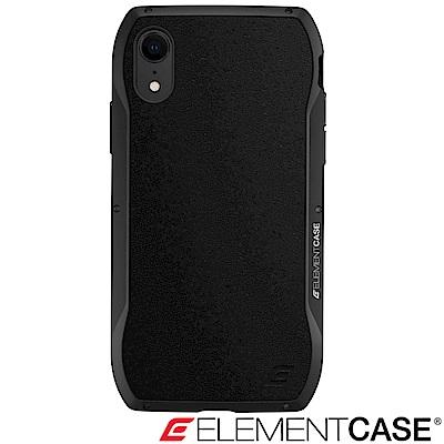美國 Element Case iPhone XR Enigma 旗艦真皮防摔殼 - 黑