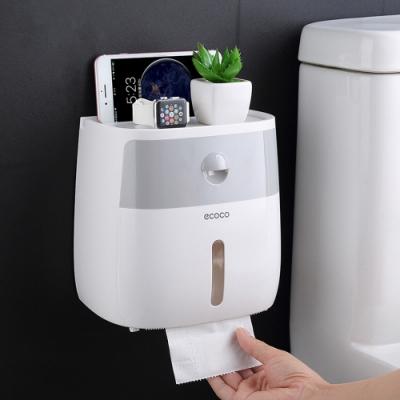 無痕防水雙層抽屜衛生紙盒 面紙盒