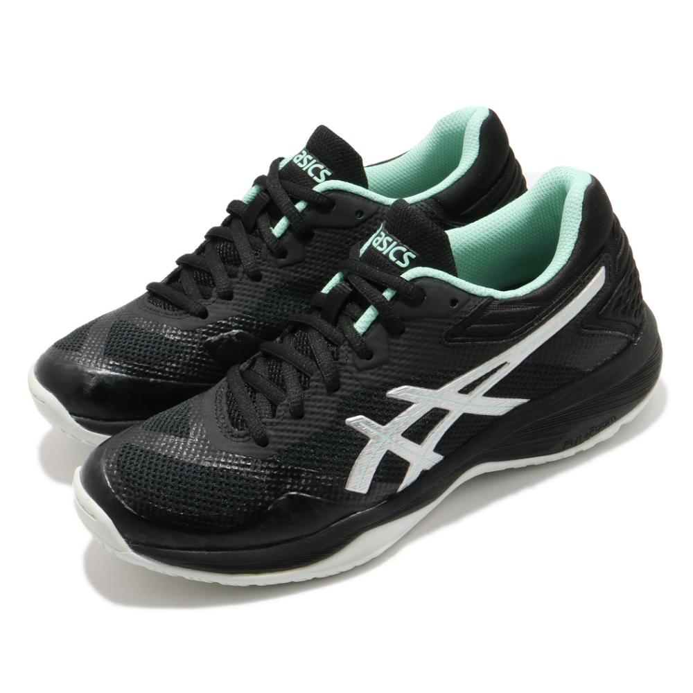 Asics 排球鞋 Netburner Ballistic 女鞋 亞瑟士 排羽桌球鞋 FLYTEFOAM 黑 綠 1052A002002